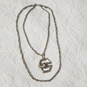 Jewelry - Vintage 3 Way Pendant Layering Necklace